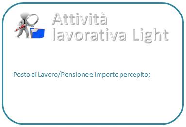 Rintraccio attività lavorativa light (prezzo compreso IVA)