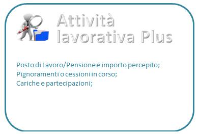 Rintraccio attività lavorativa plus (prezzo compreso IVA)