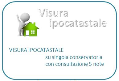 Visura ipocatastale (prezzo compreso IVA)