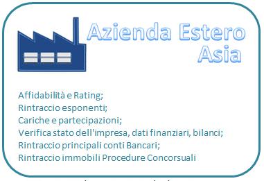 Affidabilità e rating Asia (prezzo compreso IVA)